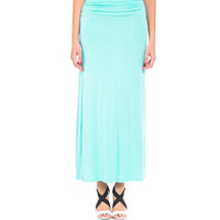 Foldover Maxi Skirt - 2020AVE