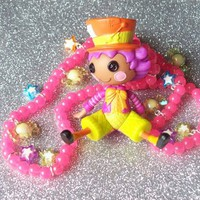 Candy Wonderland - Lalaloopsy Mad Hatter Charm Necklace from On Secret Wings