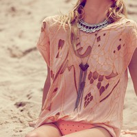 Free People FP New Romantics High Noon Tee