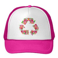 Tulip Fields 119 Recycle - Hat from Zazzle.com