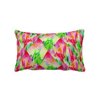 Tulip Fields 119 - Lumbar Pillow from Zazzle.com