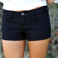She's Back In Black Shorts: Black | Hope's