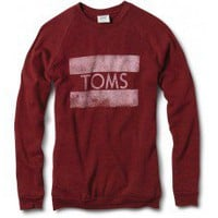 Women&#x27;s Cranberry Classic Crew | TOMS.com