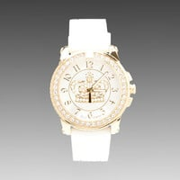 Juicy Couture Pedigree GP Watch in White Jelly from REVOLVEclothing.com