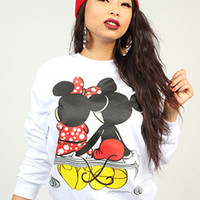 Breezy Excursion squeezing Cheeks White Crew Womens : Karmaloop.com - Global Concrete Culture