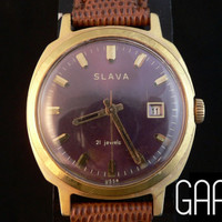 37mm Slava mens watch