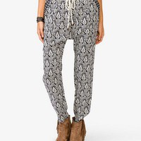 Tribal-Inspired Harem Pants