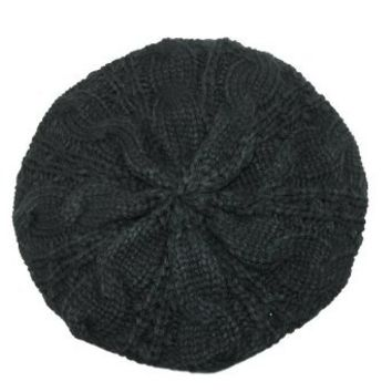 Amazon.com: Chunky Knit Beret: Clothing