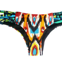 Brazilian Ikat Print Bottoms