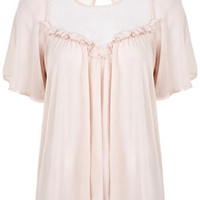 Angel Sleeve Smock Top - View All  - New In