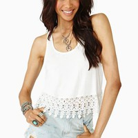 Daisy Crop Tank