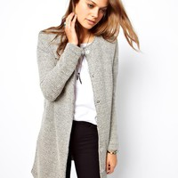 ASOS | ASOS Jacket In Longline And Texture at ASOS