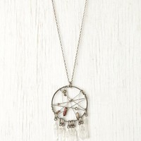 Free People Brix Dream Catcher Pendant