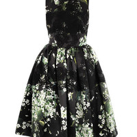Lily of the Valley print prom dress | Dolce & Gabbana | MATCHE...