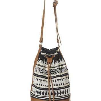 Malu Beaded Bag Navy