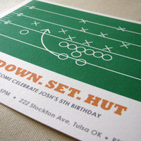 FOOTBALL BIRTHDAY DESIGNS :: Ellison Reed