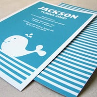 Whale Birthday Designs :: Ellison Reed