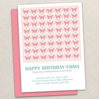 BUTTERFLY BIRTHDAY DESIGNS :: Ellison Reed