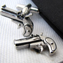 Gun Cufflinks - Firegun cufflinks - Fire guns cufflinks for man - Anniversary gift - Mens cuff links - Stainless steel cufflinks