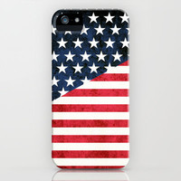 rustic flag iPhone & iPod Case by daniellebourland