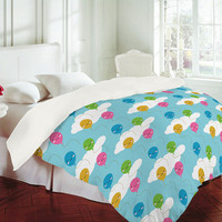 Marceline Smith Kawaii Balloons Duvet Cover