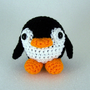 Crochet Amigurumi Penguin  -  Silly Penguin