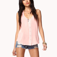 Essential Crochet Back Trapeze Top | FOREVER21 - 2027602352