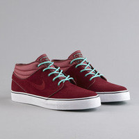 Flatspot - Nike SB Stefan Janoski Mid Team Red / Team Red / Crystal Mint
