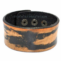 Brown leather bracelet buckle bracelet men cuff bracelet women bracelet friendship bracelet jewelry bracelet  d-337