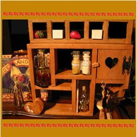 Kitchen Office or Sewing Room cupboards  by rusticrevivals on Etsy