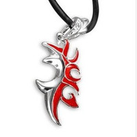 TOp new charm Lord of the Rings Legolas Elven prince Red pendant Necklace N43