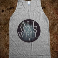 All Was Well - MADHAWT - Skreened T-shirts, Organic Shirts, Hoodies, Kids Tees, Baby One-Pieces and Tote Bags