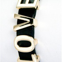 The Black Love Bracelet  - 29 N Under