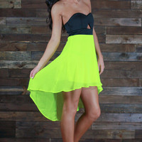 One Time Lime Dress