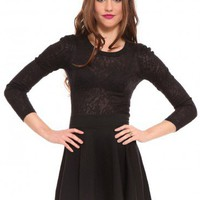 Veiled Lace Top - Black | GYPSY WARRIOR