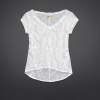 Brooks Beach Lace Top
