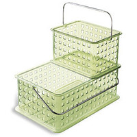Green Grid Totes