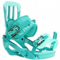 Salomon Rhythm Snowboard Bindings Green - Mens