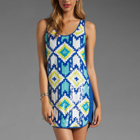 Trina Turk Lore Dress in Mirage Blue from REVOLVEclothing.com