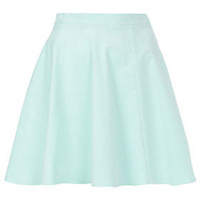 Mint Baby Cord Skater Skirt - Full &amp; Flippy Skirts