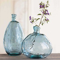 Recycled Glass Balloon Vases - VivaTerra