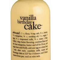 Women's philosophy 'vanilla birthday cake' shampoo, shower gel & bubble bath, 16 oz