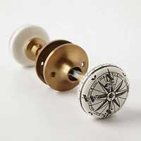 Anthropologie - Compass Doorknob
