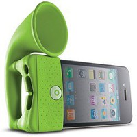 iPhone Portable Speaker Amplifier Horn Stand