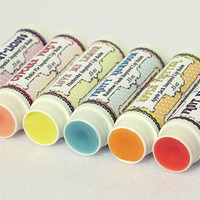 Lip Balm is Magic - Set of 6 Lip Balms