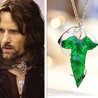 The Lord Of The Rings  Elven Leaf Brooch and by fantasticgift