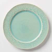 Old Havana Dinner Plate by Anthropologie