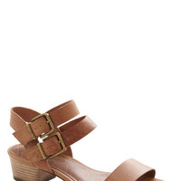 Above Parlance Sandal | Mod Retro Vintage Sandals | ModCloth.com