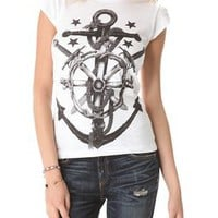 Happiness Anchor Tee | SHOPBOP