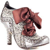 Irregular Choice - Abigails Party - Silver